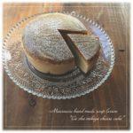 「笑顔になれる魔法のチーズケーキ。石けん」を作りましょう♪