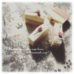 季節の石けん「花見酒soap」