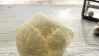 石けんの結晶